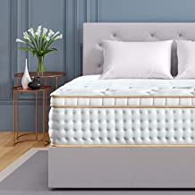 BedStory 12 inch California King Mattress, Gel Infused Memory Foam Mattress with Pocket Coil and Euro Top Bed Mattress