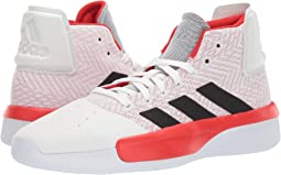 Footwear White/Active Red/Core Black