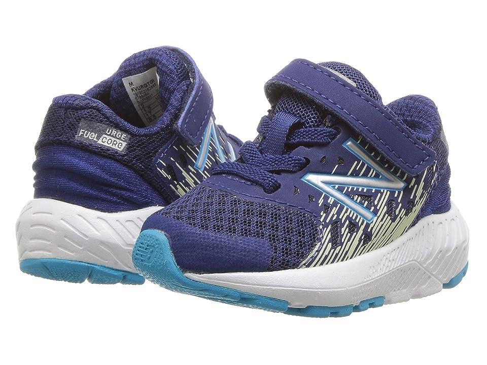 New Balance Kids KVURGv2I (Infant/Toddler) (Techtonic Blue/Glow) Boys Shoes