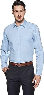 Amazon Brand - Symbol Men's Solid Regular Fit Full Sleeve Formal Shirt