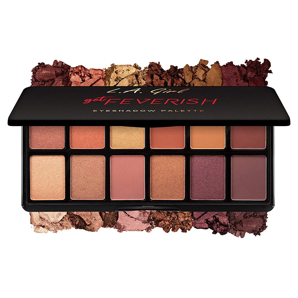 によって第五オートL.A. GIRL Fanatic Eyeshadow Palette - Get Feverish (並行輸入品)
