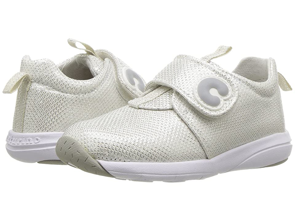 Naturino Candy VL SS18 (Toddler/Little Kid) (Silver) Girl