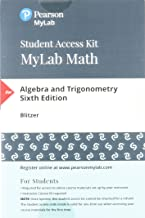 MyLab Math with Pearson eText -- 24-Month Standalone Access Card -- for Algebra and Trigonometry (6th Edition)