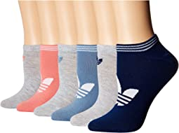 Originals Trefoil 6-Pack No Show Socks