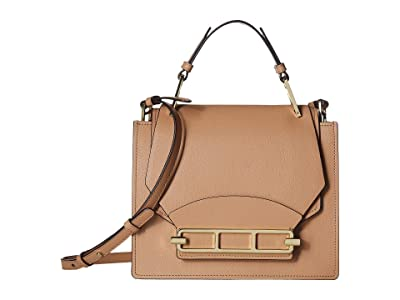 ZAC Zac Posen Katie Top-Handle Shoulder Bag (Latte) Handbags