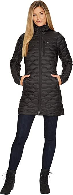 Nitrous hooded down parka women's