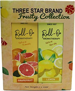 Three Star Brand Aromatherapy Gift Set Pack of 2 (Fruity)