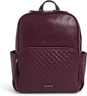 Vera Bradley Leather Carryall Backpack, Mulled Wine