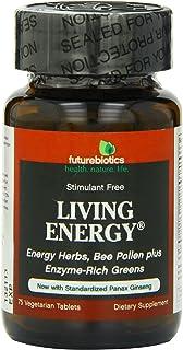 Futurebiotics Living Energy, 75 Vegetarian Capsules