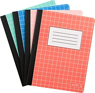 Yoobi   Composition Book   70 College Ruled Sheets   Multicolor   Pack of 4 (YOOB1202446)