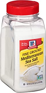 McCormick Fine Ground Mediterranean Sea Salt, 28.25 oz