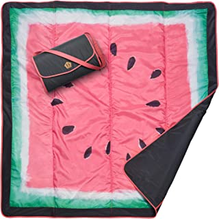 JJ Cole All-Purpose Outdoor Baby Blanket, Lightweight & Water-Resistant, Watermelon,..