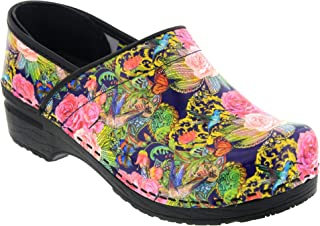 Bjork Professional Colibri Leather Clogs