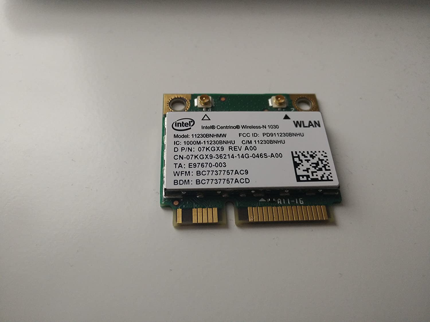 Laptop Network Adapters Wireless Card for Intel 1030 11230BNHMW ...