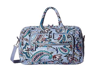 Vera Bradley Iconic Compact Weekender Travel Bag (Makani Paisley) Weekender/Overnight Luggage