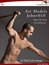 Art Models JohnV010: Figure Drawing Pose Reference (Art Models Poses) (English Edition)