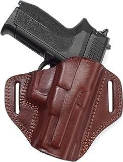 Holster for Steyr L40-A1 - Open Top Leather Belt Holster - Old-World Craftsmanship (141)