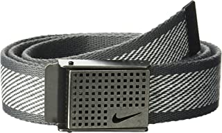 Nike mens Diagonal Web With Cutout Buckle