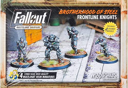 Fallout  Wasteland Warfare - Brotherhood of Steel  Frontline Knights - English