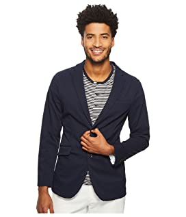 Slim Fit Seersucker Textured Suit Jacket
