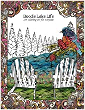 Tree-Free Greetings Adult Coloring Book: Lake Life and Outdoor Landscapes - Stress Relief, Mindfulness and Relaxation for ...