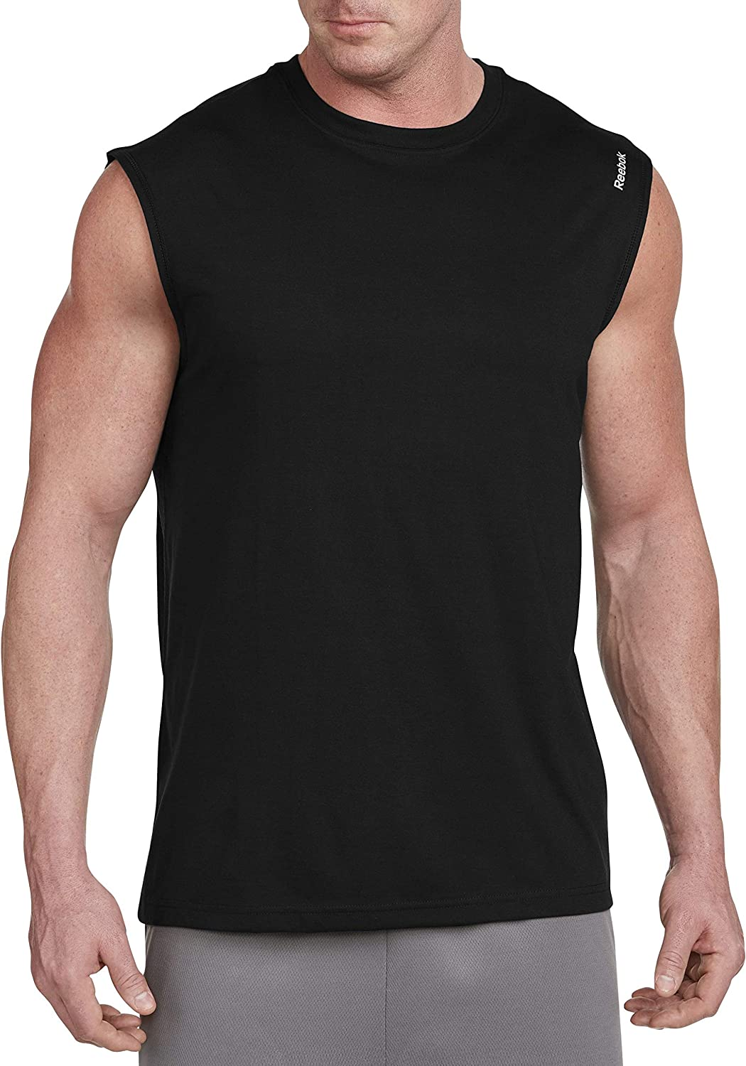 Reebok Bay Big & Tall Play Dry Sleeveless Tech Top