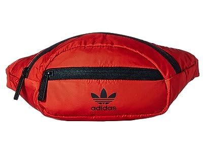 adidas Originals Originals National Waist Pack (Scarlet/Black) Travel Pouch