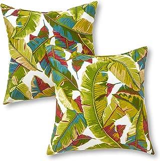 outdoor pillow palm