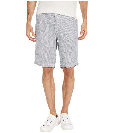 onia Austin Linen Shorts (Deep Navy 2) Men