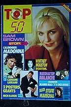 TOP 50 165 N° 165 MAI 1989 SAM BROWN CALENDRIER MADONNA WHITNEY HOUSTON AVALANCHE 2 POSTERS CAROLINE LEGRAND NICK KAMEN