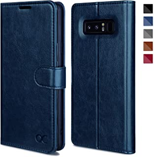 OCASE Galaxy Note 8 Case, Samsung Galaxy Note 8 Wallet Case [TPU Shockproof Interior Protective Case] [Card Slot] [Kickstand] [Magnetic Closure] Leather Flip Cover for Samsung Galaxy Note8 - Blue