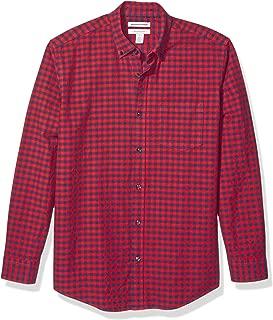 Amazon Essentials Men's Regular-Fit Long-Sleeve Pocket Oxford Shirt