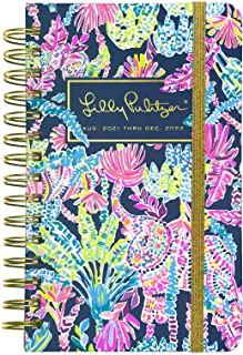 $24 » Lilly Pulitzer Medium 2021-2022 Planner Daily Weekly Monthly, Hardcover Agenda Dated Aug 2021 - Dec 2022, 17 Month Calenda...