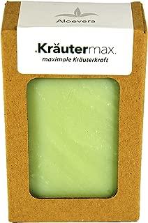 Aloe-Vera-Seifen-Stück 1 x 100 g – Pflanzen-Öl-Seife-natural