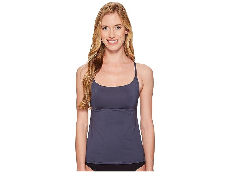 Nike Adjustable Cross-Back Tankini (Thunder Blue) Women