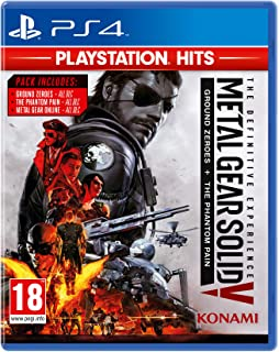 KONAMI Metal Gear Solid V Definitive Exp Ps Hits PS4