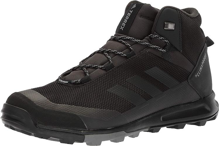 Adidas outdoor Men's Terrex Tivid MID CP Walking chaussures, noir gris Four, 15 D US