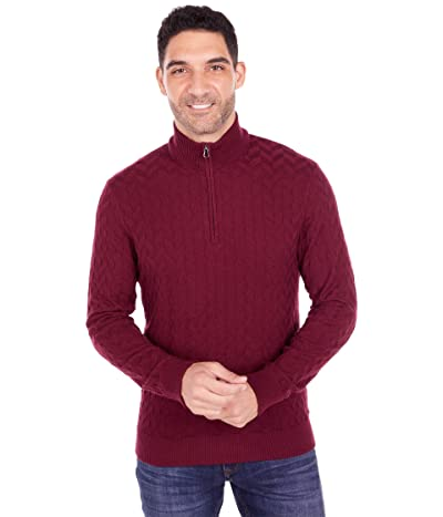 Robert Graham The Vasa Sweater (Burgundy) Men