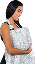 Breastfeeding Nursing Cover, Trcoveric Lightweight Breathable Cotton Privacy Feeding Cover, Nursing Apron for Breastfeeding - Full Coverage, Adjustable Strap, Stylish and Elegant