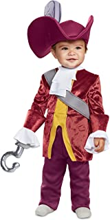 Disguise Baby Boy's Captain Hook Classic Infant Costume