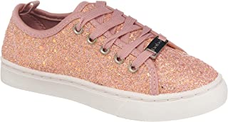 26 Accessories Girls Glitter Sneakers Lace Up Low Top High Top Fashion Trainers