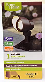 Better Homes and Gardens 1- Piece QuickFIT LED Spot Light