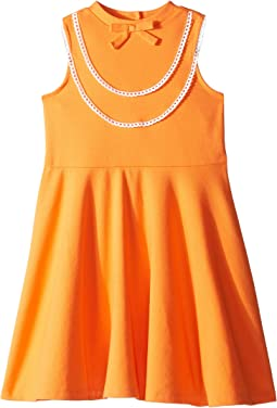 Ruffle Ponte Dress (Toddler/Little Kids/Big Kids)