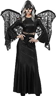 Adult Winged Grim Reaper Costume Women's Dark Angel Costume