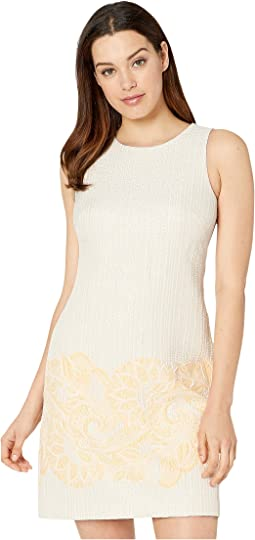 24767b29f93 New. Ivory Gold. 1. Vince Camuto. Sleeveless Shift Dress