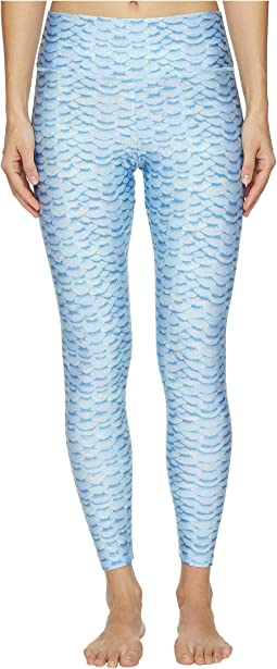 Letarte - Printed Leggings Cover-Up