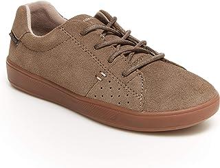 Stride Rite Boy's Made2Play MACI Sneaker, BROWN, 6 Wide Big Kid