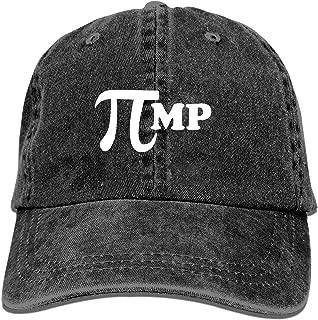 QIPNVY Baseball Trucker Cap,Pi Pimp Adjustable Youth Cowboy Mens Golf Caps Hats
