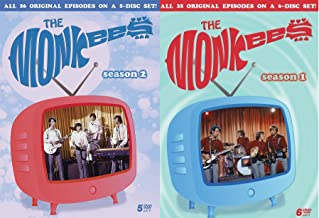 The Monkees Season 1 & 2 Collection DVD Complete Classic TV series 61 episodes