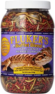 Fluker's 76051 Buffet Blend Juvenile Bearded Dragon Formula, 4.4 oz